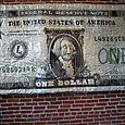 "01. Money Talks (66' x 127"" x12"")  $15,000"